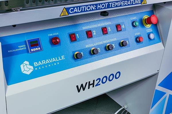 Piegatrice a caldo WH200