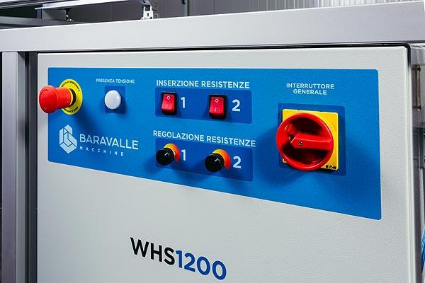 Piegatrice a caldo WHS1200